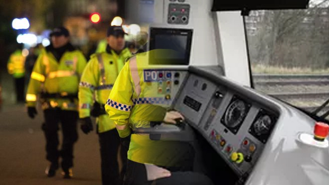 Police Officers becoming Train Drivers